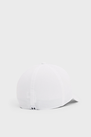 Мужская белая кепка Isochill Armourvent STR Under Armour