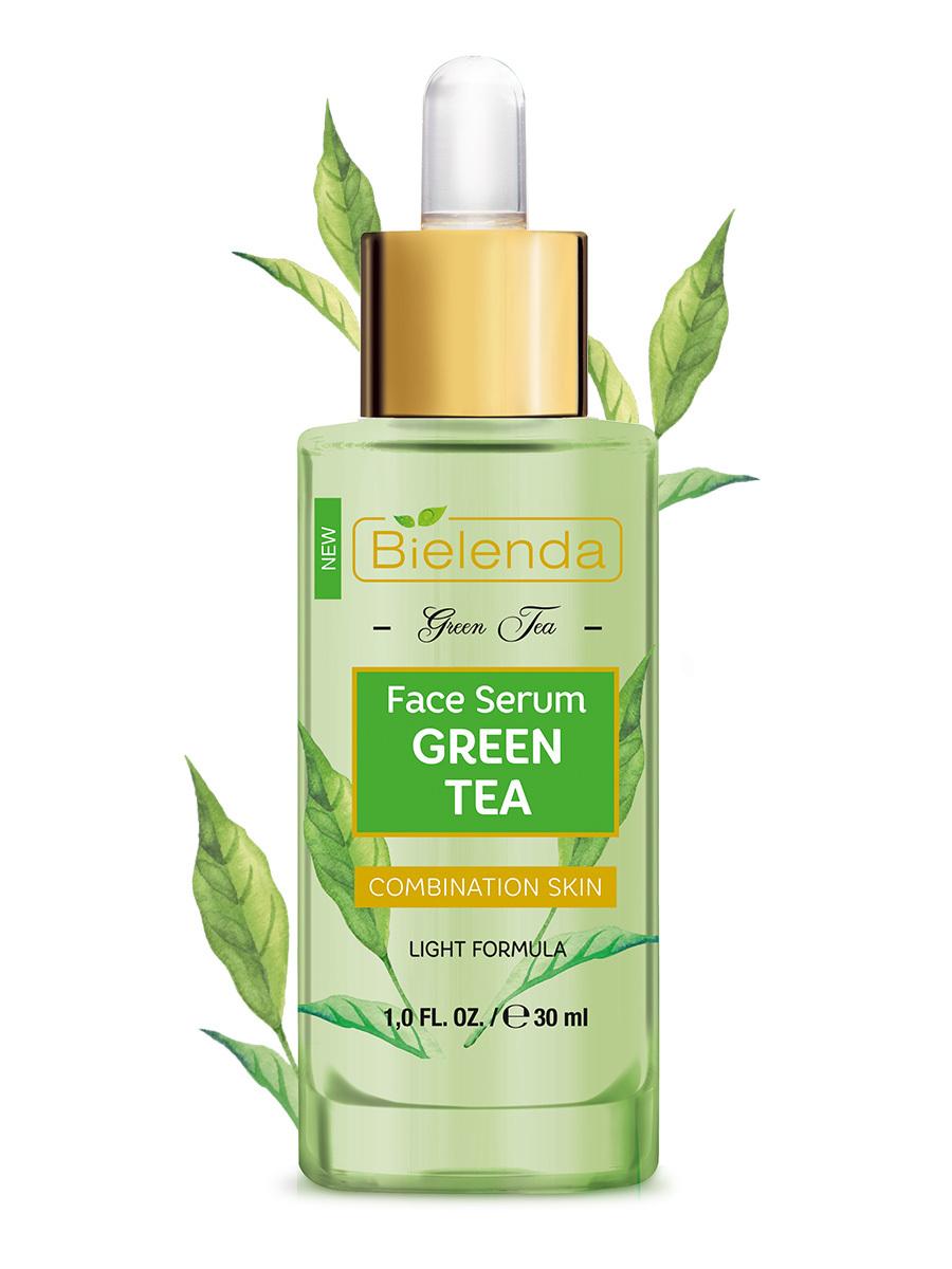 Многофункциональная сыворотка для лица с зеленым чаем для комбинированной кожи GREEN TEA 30мл