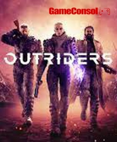 Плакат игровой Outriders (А1)