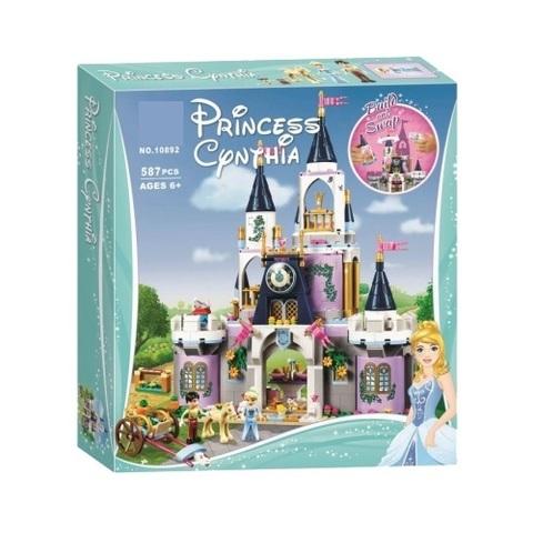 Конструктор Princess 10892 Волшебный замок Золушки