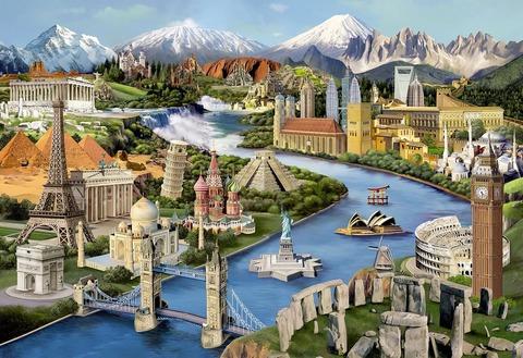 Мировые достопримечательности (Wooden City)