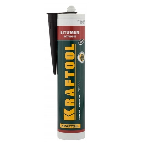 Герметик битумный KRAFTOOL черный, 300мл