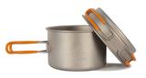 Кастрюля Novaya Zemlya Titanium Cookware 0,8 л TS-012