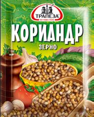 """Кориандр в зернах """"Трапеза"""" 15г"""