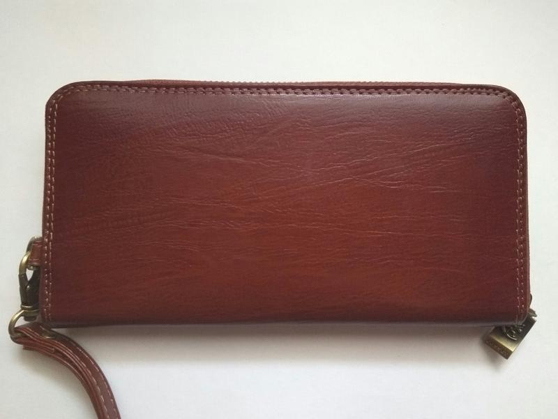 Мужской кошелек на молнии COSSET 14-327-2701