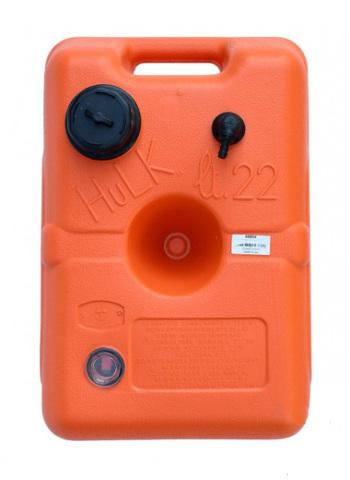 Бак топливный Nuova Rade Hulk с датчиком топлива, 46х30,5х26,5 см, 22 л