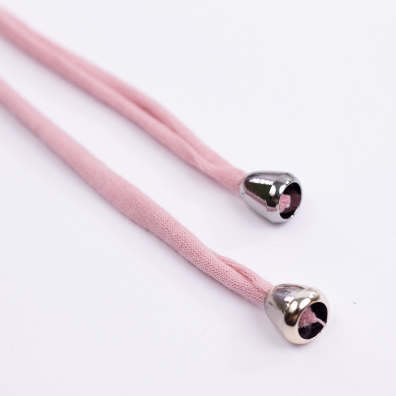 Вспомогательная фурнитура Комплект пластиковых наконечников для тканевой утяжки N6 (серебро) IMG_7484.jpg