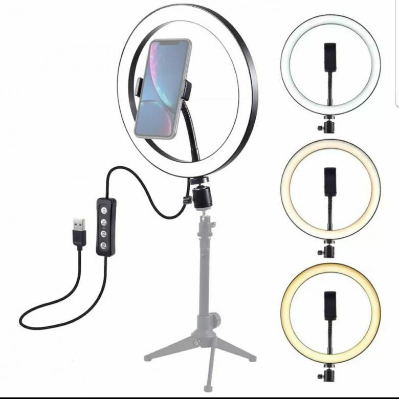 Хиты продаж! Кольцевая лампа со штативом 33 см USB koltsevaya-lampa-33-usb.jpg