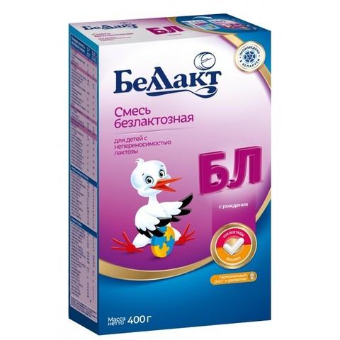 Беллакт. Смесь сухая молочная безлактозная 0-6 мес., 400 г