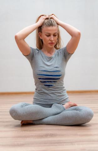 Футболка жен. Сердце йоги