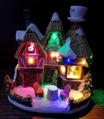 Светящийся новогодний Домик
