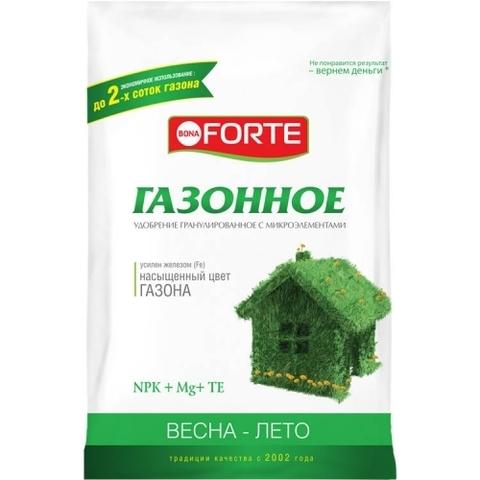 Bona Forte удобрение комплексное с микроэлементами Газонное 4,5кг