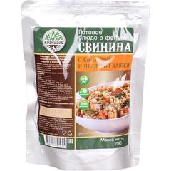 Туристическая еда Кронидов (Свинина с капустой и перловой кашей)