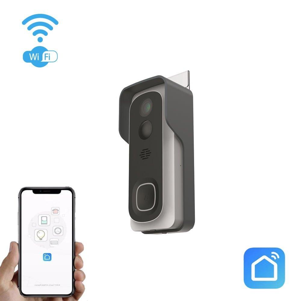 Wi-Fi uksekell-telefonilukk Smart Home