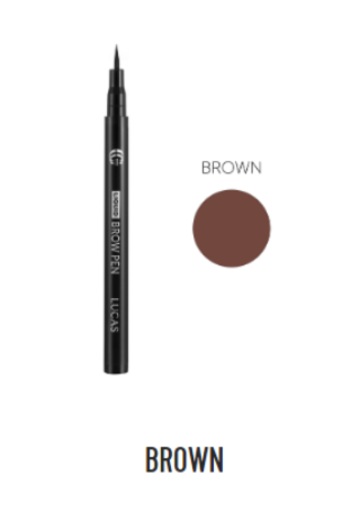 Фломастер для бровей Liquid Brow Pen CC Brow (коричневый)