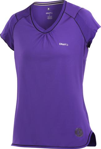 Футболка Craft Perfomance Femme женская фиолетовая