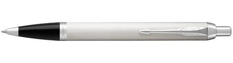 Шариковая ручка Parker IM Metal White CT123