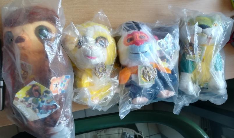 Мягкие игрушки из мульфильма