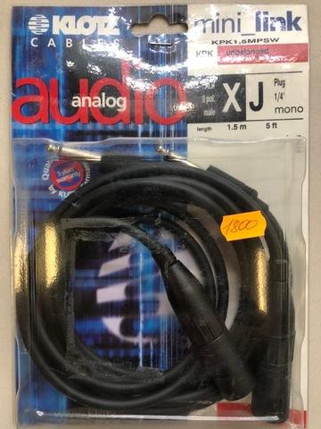 KLOTZ KPK1,5MPSW - Микрофонный кабель