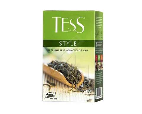 Чай зеленый листовой Tess Style, 200 г