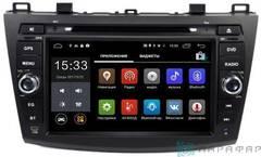 Штатная магнитола 4G/LTE с DVD для Mazda 3 09-12 на Android 7.1.1 Parafar PF034D