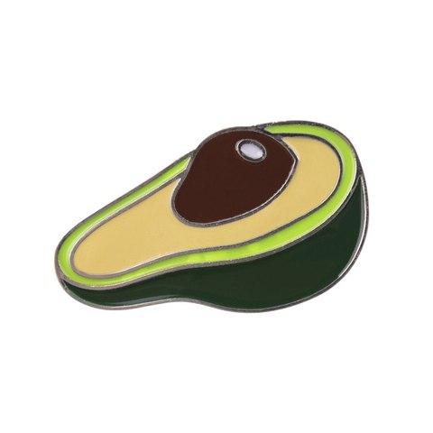 Значок, пін - Великий авокадо