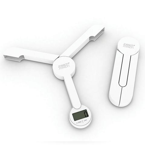 Весы кухонные складные TriScale™ белые