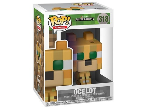 Фигурка Funko POP! Vinyl: Games: Minecraft: Ocelot 26385