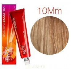 Matrix Color Sync: Mocha Mocha 10MM очень-очень светлый блондин мокка мокка, крем-краска без аммиака, 90мл