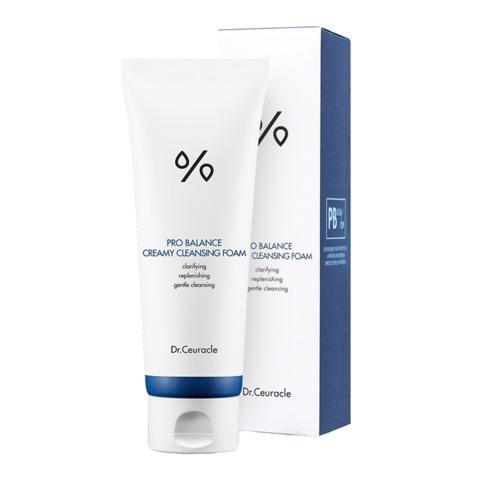 Dr.Ceuracle Pro Balance Creamy Cleasing Foam Очищающая пенка с пробиотиками для чувствительной кожи