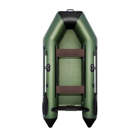 Лодка ПВХ АКВА 2600 зелено-черная