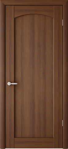 Дверь ALBERO Верона (орех таволато, глухая ПВХ), фабрика Фрегат