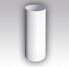 Воздуховод круглый 125 мм 1,0 м пластиковый