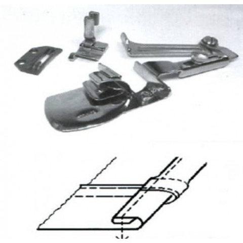 Окантователь для подгиба края ткани в 3 сложения  для тяжелых материалов KHF53 1/4 (6,4мм) | Soliy.com.ua