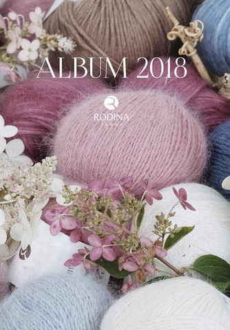 Журнал ALBUM 2018 Rodina Yarns