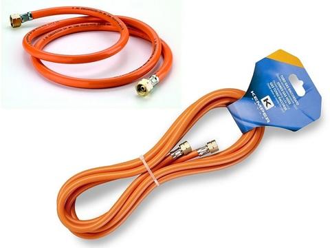 Шланг газовый  KEMPER  61805D (длина 5м,раб.давл. 40бар,резьба лев. 3/8