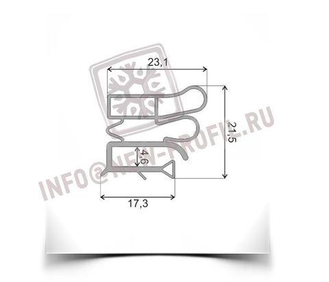 Уплотнитель  74*56 см для холодильника Позис Electrofrost 140 (морозильная камера) Профиль 012