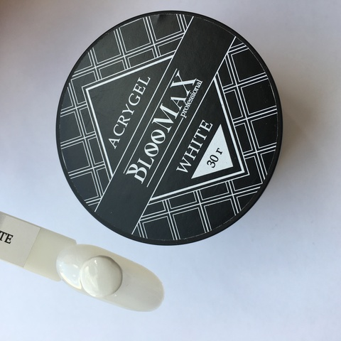 Acrygel white, 30 гр