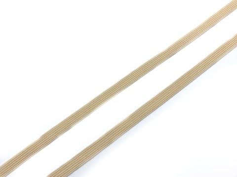 Резинка отделочная бежевая 4 мм (цв. 126)