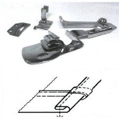 Фото: Окантователь для подгиба края ткани в 3 сложения  для тяжелых материалов KHF53 1/8 (3,2мм)