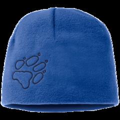 Шапка детская Jack Wolfskin Fleece Cap Kids coastal blue