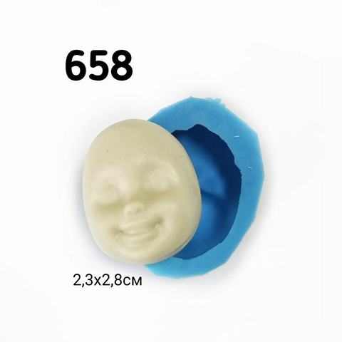 0658 Молд силиконовый Лицо