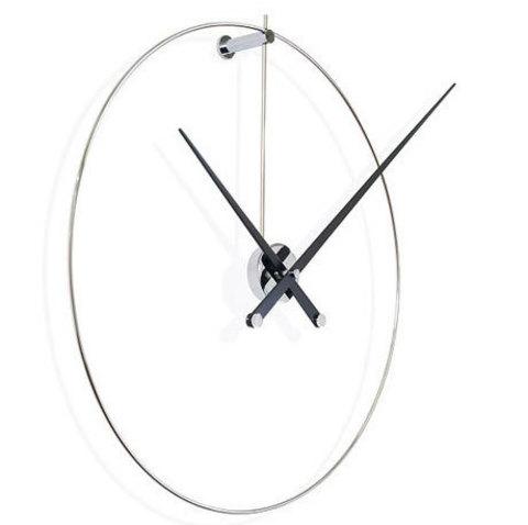 Настенные часы New Anda сталь-черный лак