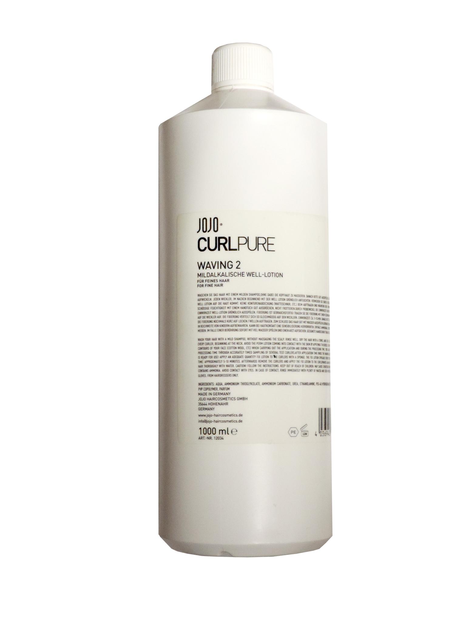 Средство для химической завивки с мягким эффектом для окрашенных волос, Waving 2, 1000 мл