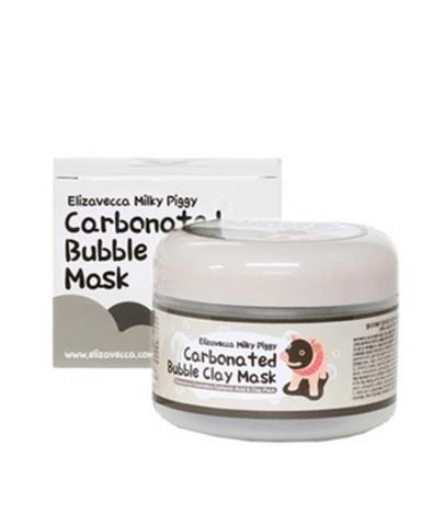 Elizavecca Маска для лица Elizavecca ОЧИЩАЮЩАЯ/ПУЗЫРЬКОВАЯ Elizavecca Сarbonate Bubble Clay Mask, 100 мл