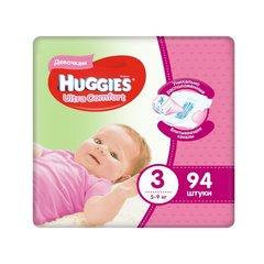 Uşaq bezi \ Подгузники \ Diapers HUGGIES 3 Ultra 94 pcs (qız)