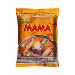 Лапша тайская быстрого приготовления Мама со вкусом кремовый Том Ям, 55г