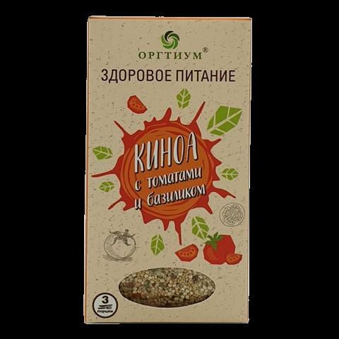Киноа с томатами и базиликом ОРГТИУМ, 175 гр