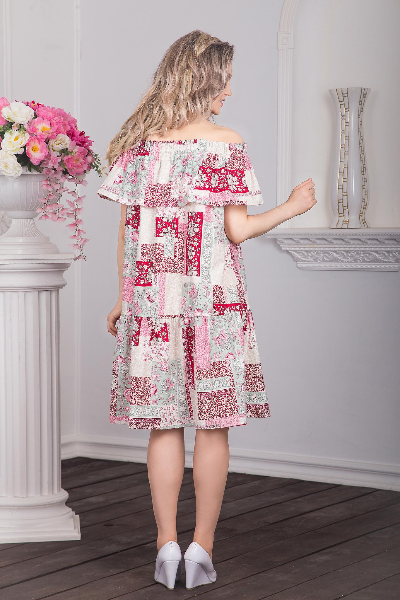 Платье Первая любовь вид сзади