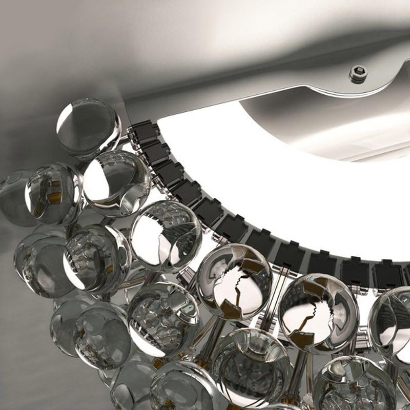 Настенный светильник копия CABOCHE media by Foscarini (прозрачный)